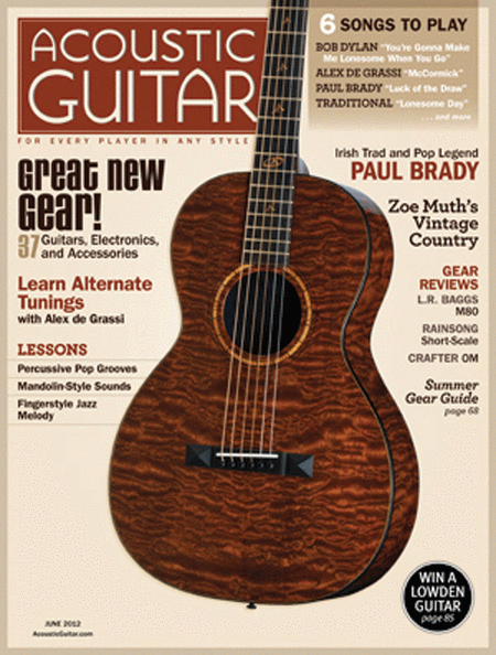Acoustic Guitar Magazine - June 2012