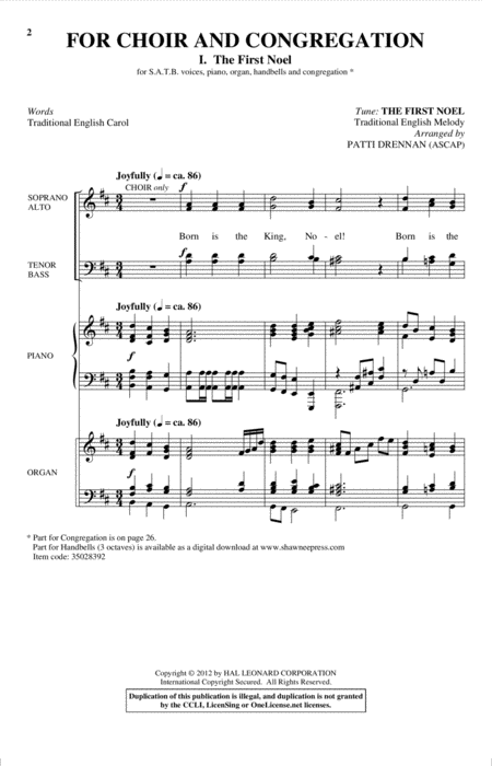 For Choir And Congregation, Volume 3