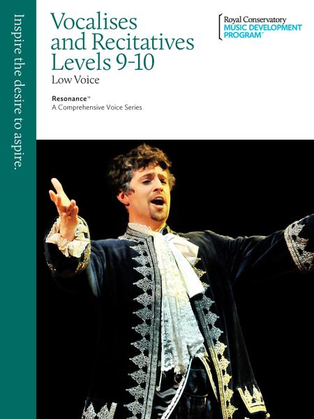 Resonance: Vocalises and Recitatives 9-10 Low Voice