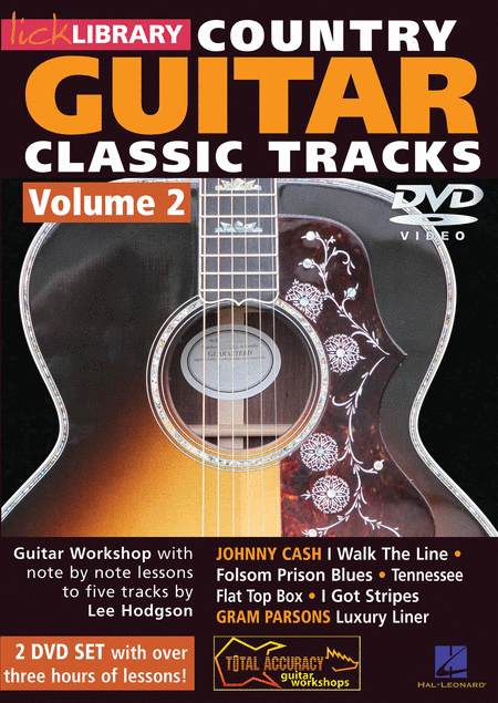 Learn Country Guitar Classic Tracks - Volume 2