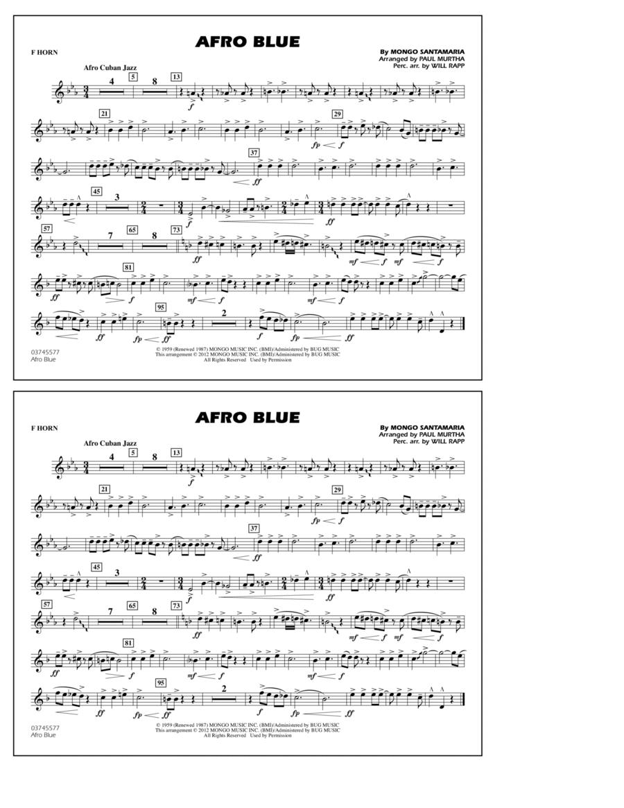 Afro Blue - F Horn