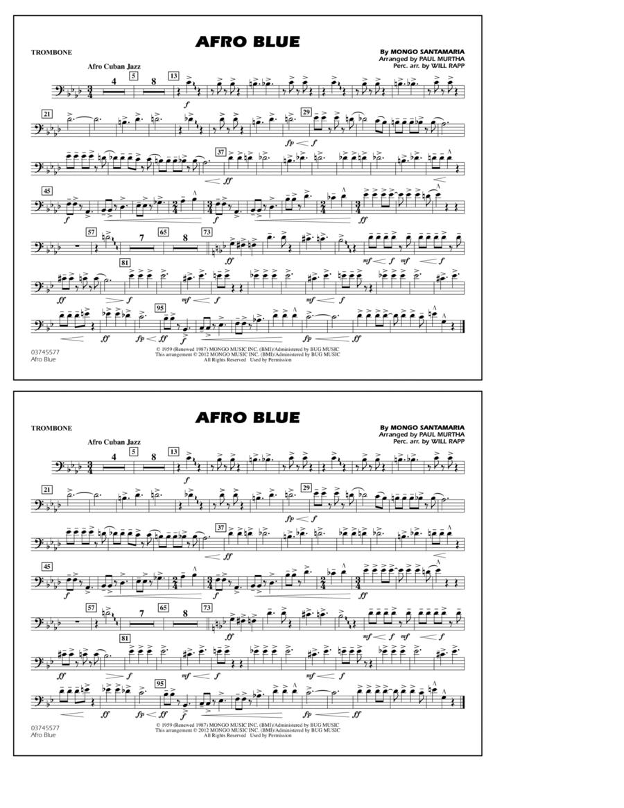 Afro Blue - Trombone