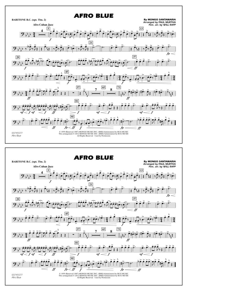 Afro Blue - Baritone B.C. (Opt. Tbn. 2)