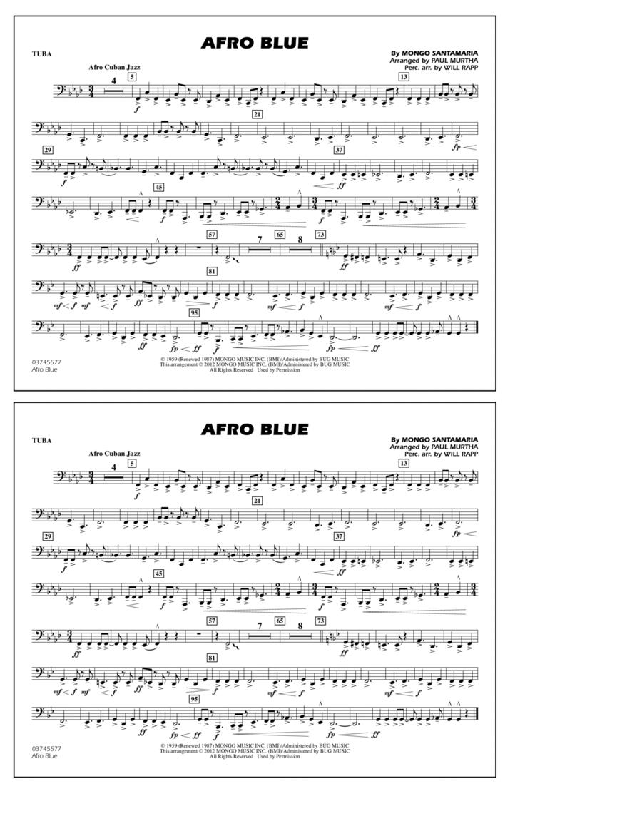 Afro Blue - Tuba