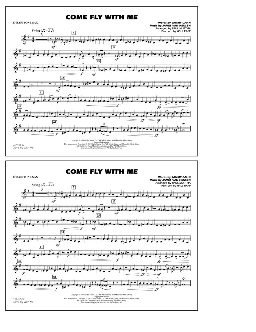 Come Fly With Me - Eb Baritone Sax