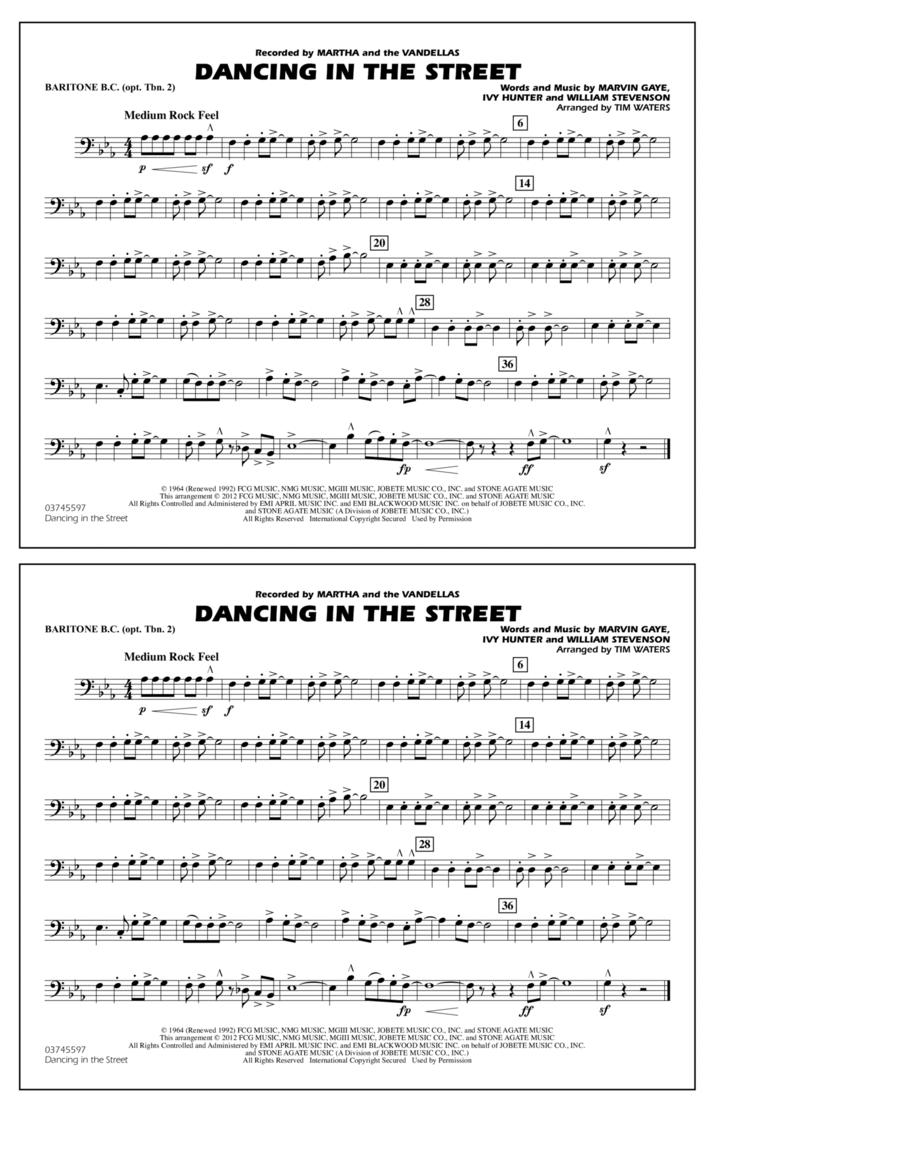 Dancing In The Street - Baritone B.C. (Opt. Tbn. 2)