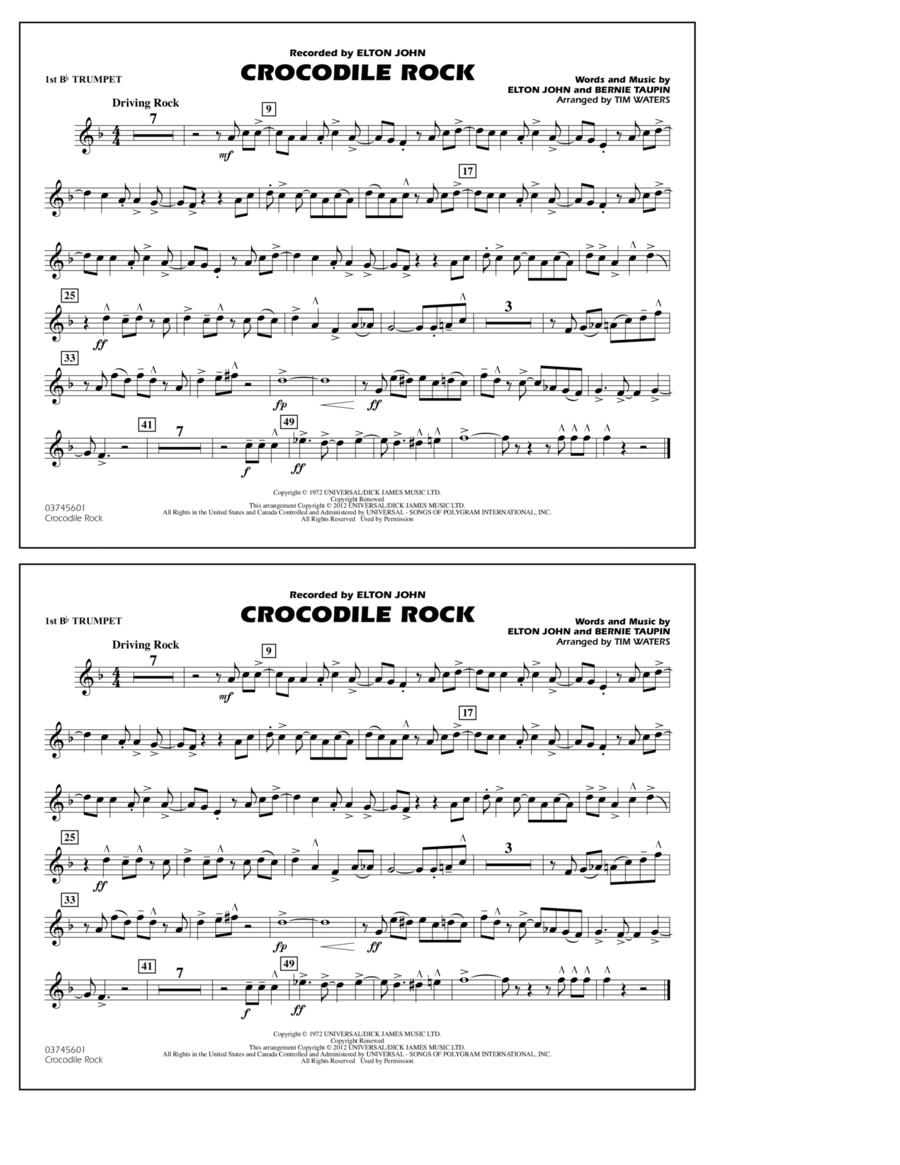 Crocodile Rock - 1st Bb Trumpet