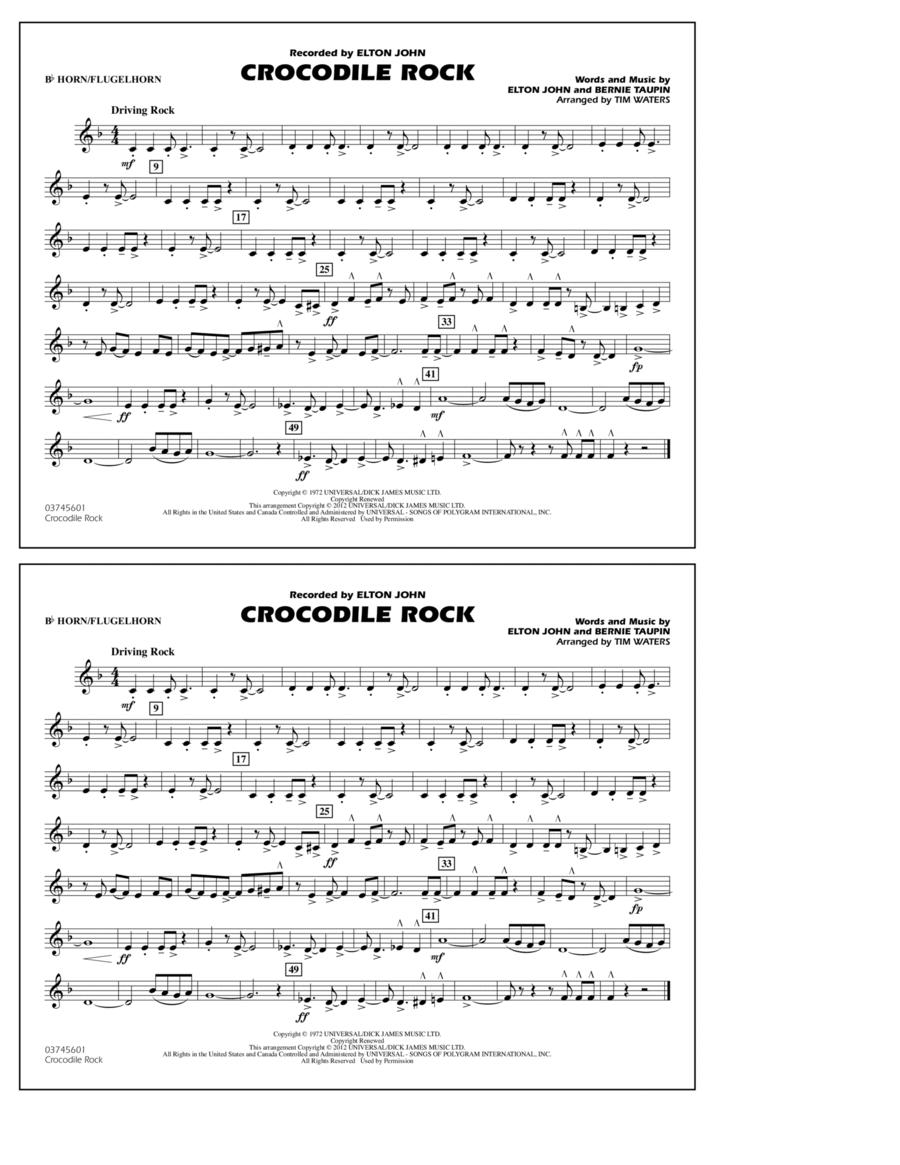 Crocodile Rock - Bb Horn/Flugelhorn