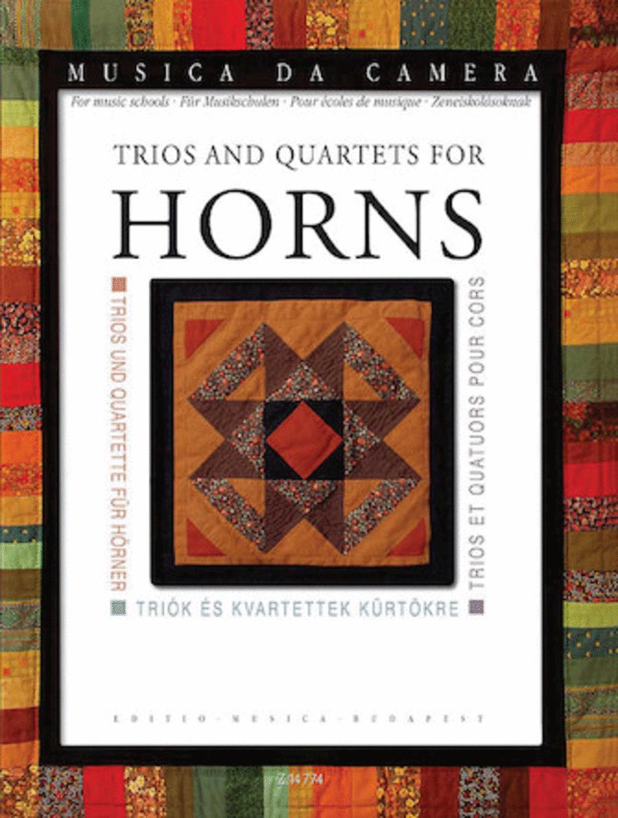 Trios and Quartets for Horns
