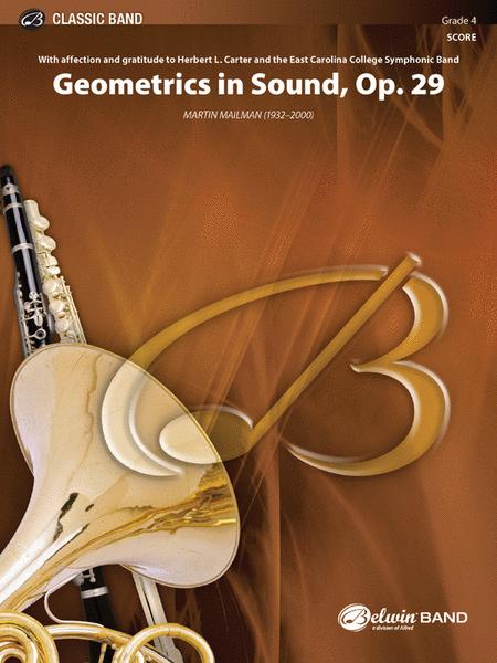 Geometrics in Sound, Opus 29