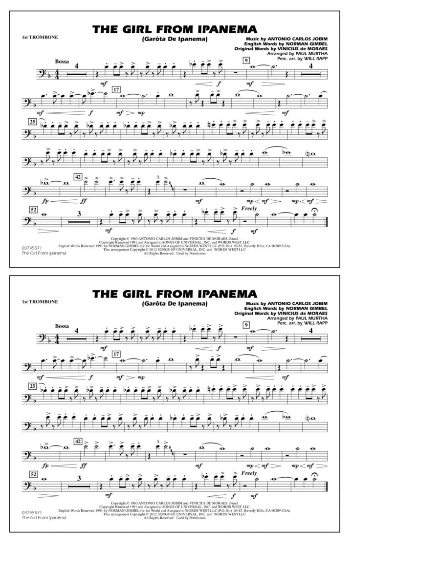 The Girl From Ipanema (Garota De Ipanema) - 1st Trombone