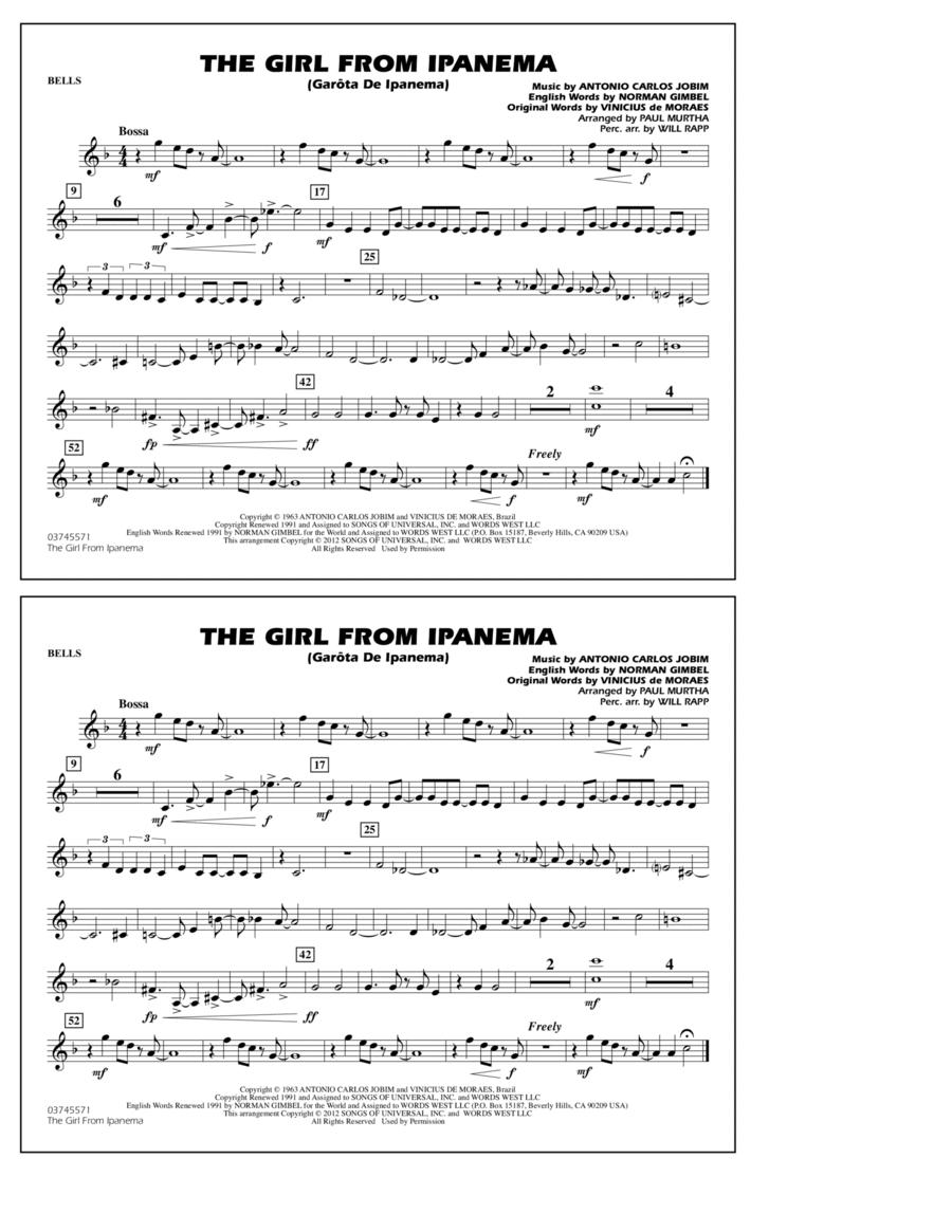 The Girl From Ipanema (Garota De Ipanema) - Bells