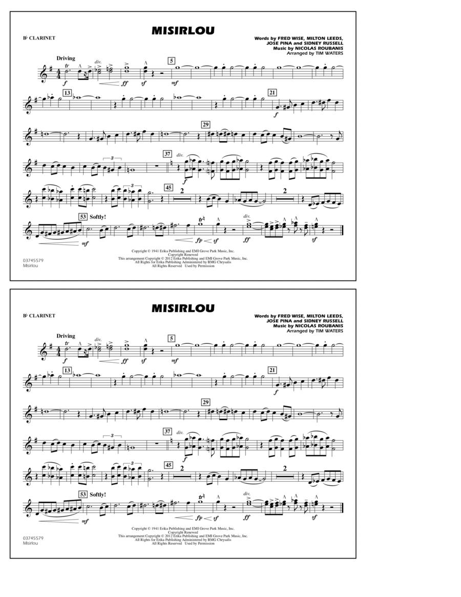 Misirlou - Bb Clarinet