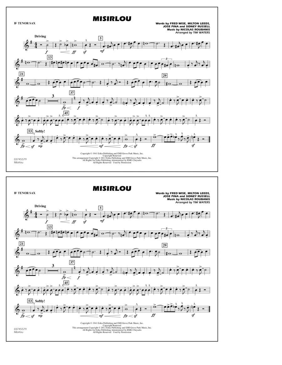 Misirlou - Bb Tenor Sax