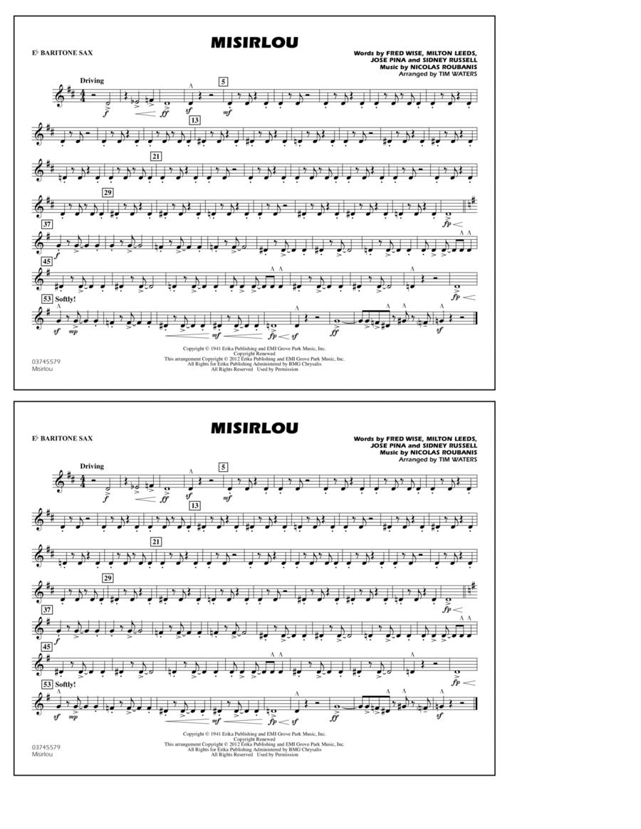 Misirlou - Eb Baritone Sax