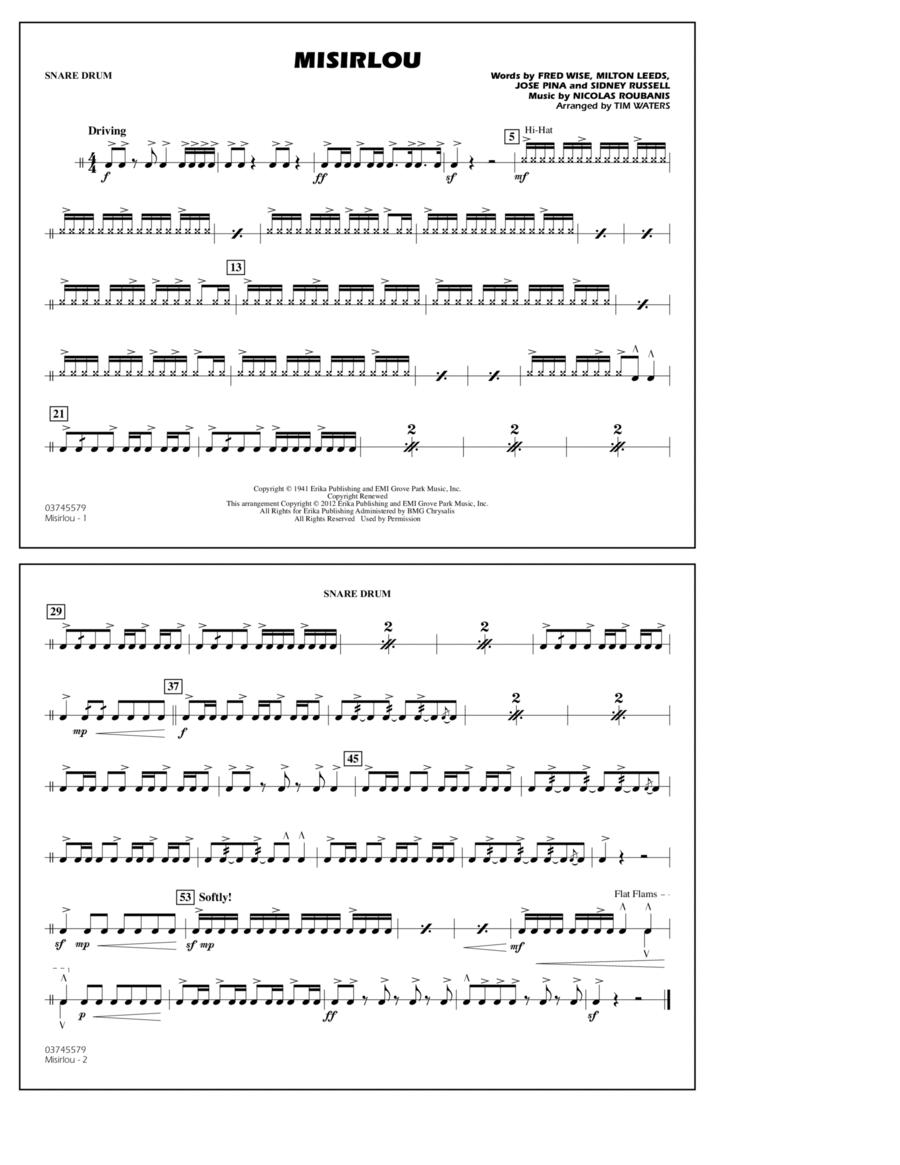 Misirlou - Snare Drum