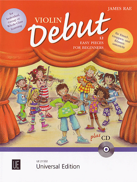Violin Debut - Pupils Book With CD
