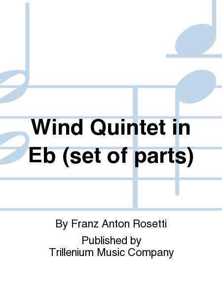 Wind Quintet in Eb (set of parts)