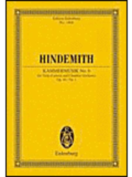 Paul Hindemith - Kammermusik No. 6, Op. 46, No. 1