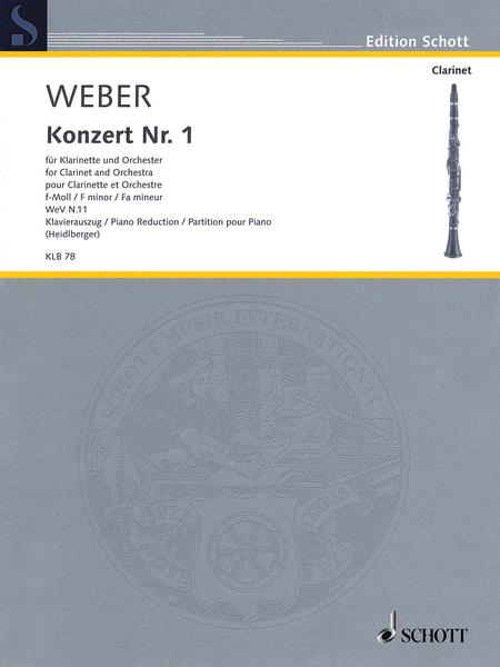 Carl Maria von Weber - Concerto No. 1 in F minor, WeV N. 11