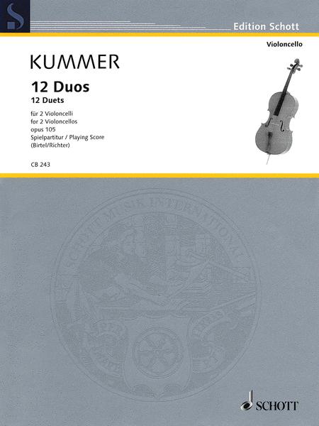 12 Duets, Op. 105