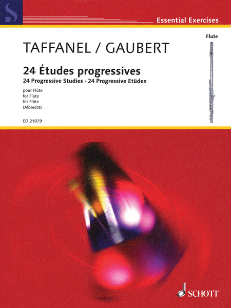 Paul Taffanel/Philippe Gaubert - 24 Progressive Studies in All Keys on the Principal Difficulties
