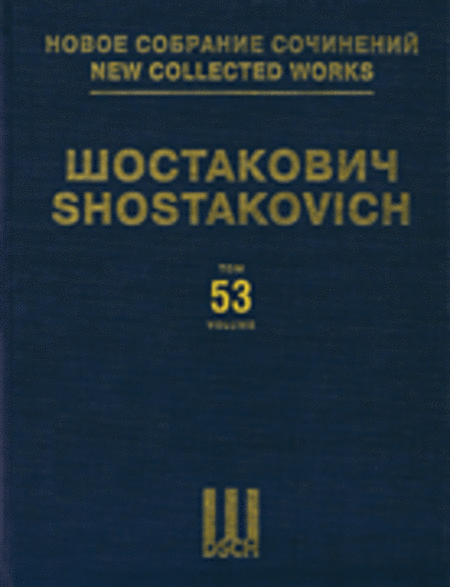 Lady Macbeth Of The Mtsensk District Op29 Opera Piano Sc Ncw53 Dsch Hardcover