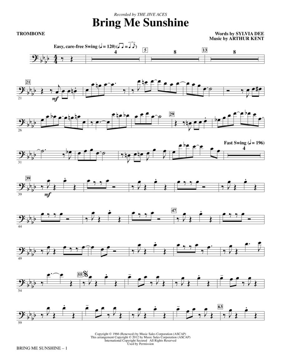 Bring Me Sunshine - Trombone