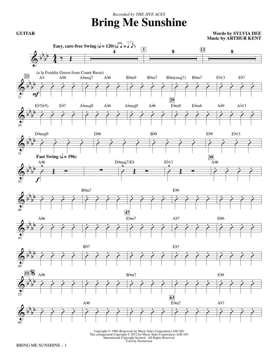 Bring Me Sunshine - Guitar
