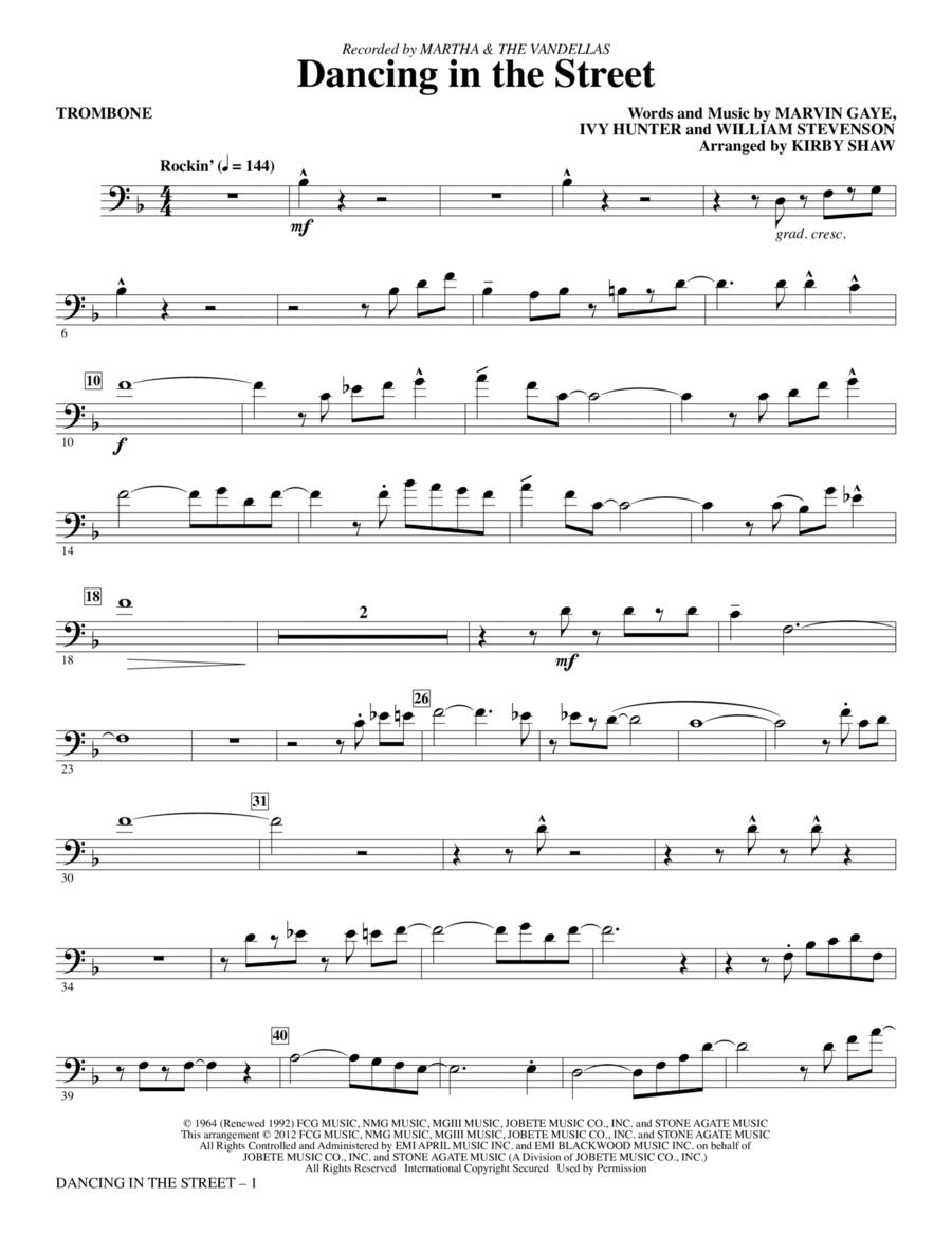 Dancing In The Street - Trombone