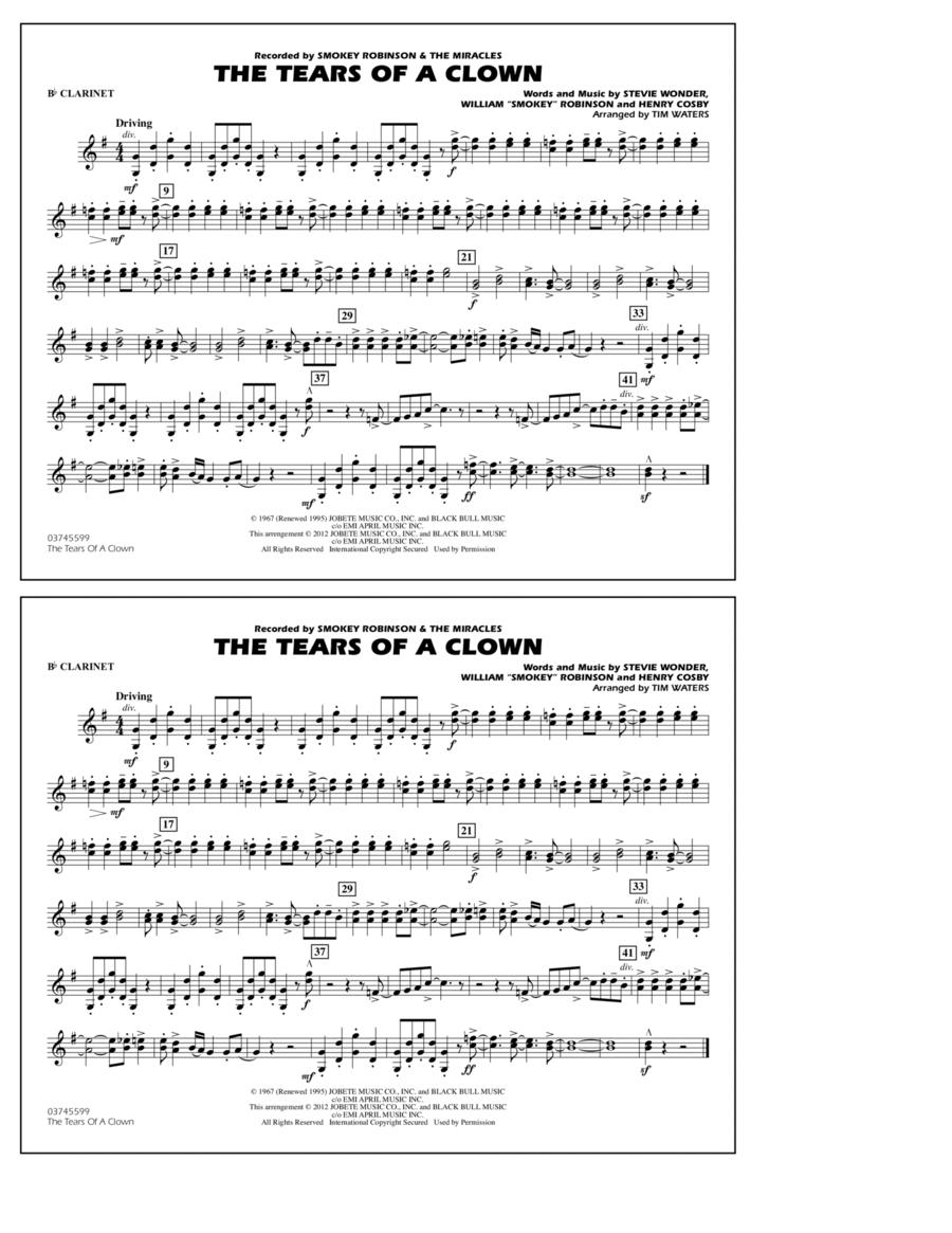 The Tears Of A Clown - Bb Clarinet
