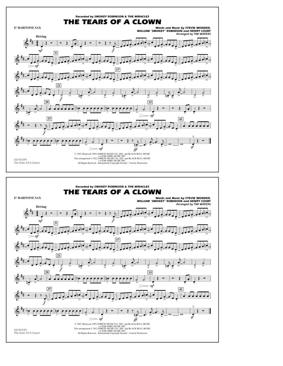 The Tears Of A Clown - Eb Baritone Sax