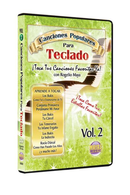 Canciones Populares para Teclado, Vol. 2