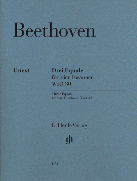 Ludwig van Beethoven - Three Equali, WoO 30