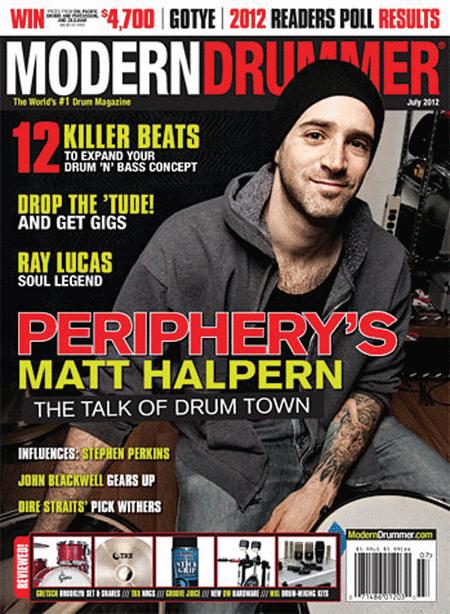 Modern Drummer Magazine - July 2012 Issue