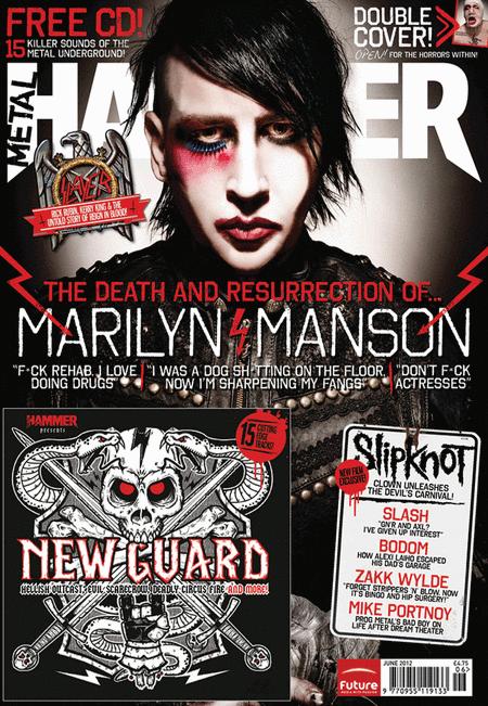 Metal Hammer Magazine - June 2012 Issue