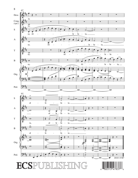 When Music Wakes My Sleeping Heart (Choral Score)