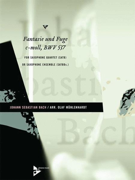Fantasie Und Fuge C-Moll, BWV 537