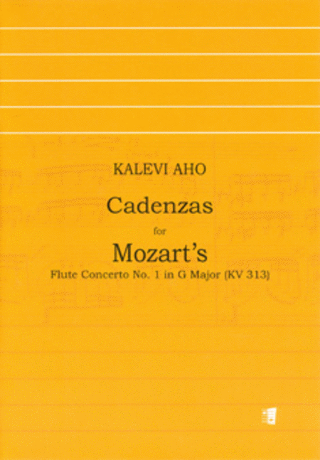 Cadenza for Flute Concerto No. 1 In G Major By Mozart
