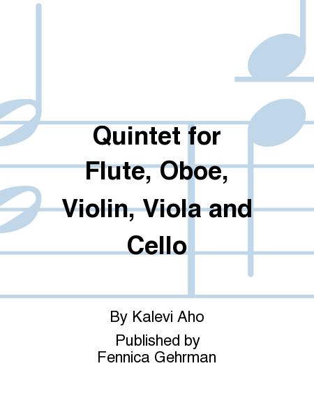 Quintet for Flute, Oboe, Violin, Viola and Cello