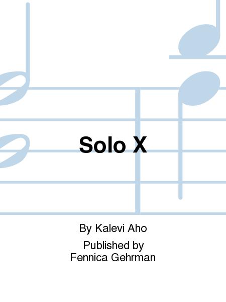Solo X