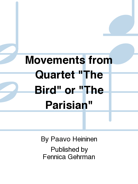 Movements from Quartet