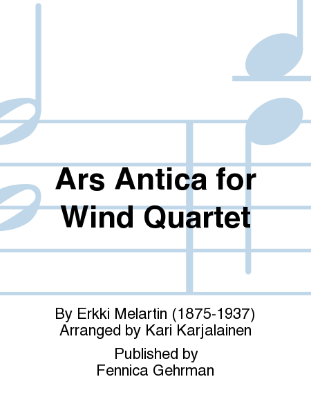 Ars Antica for Wind Quartet