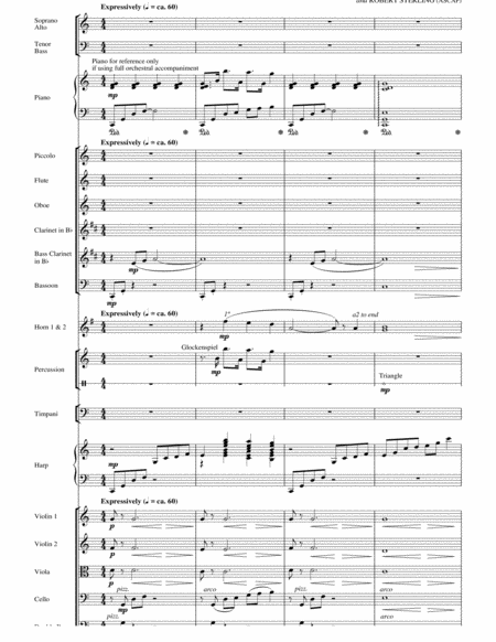 Shepherd Of The Stars - Score
