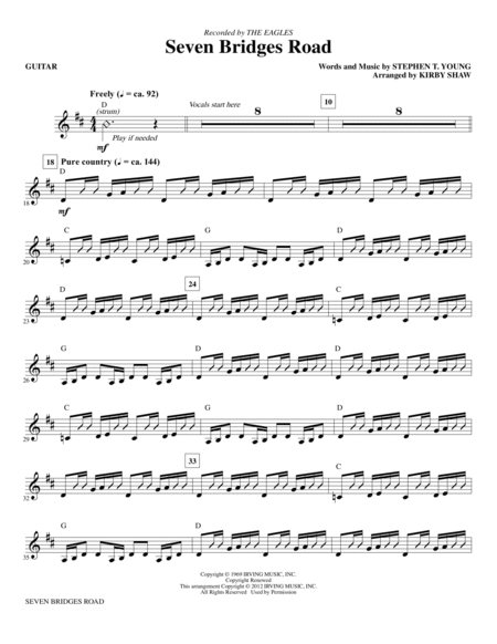 hotel california guitar sheet music pdf