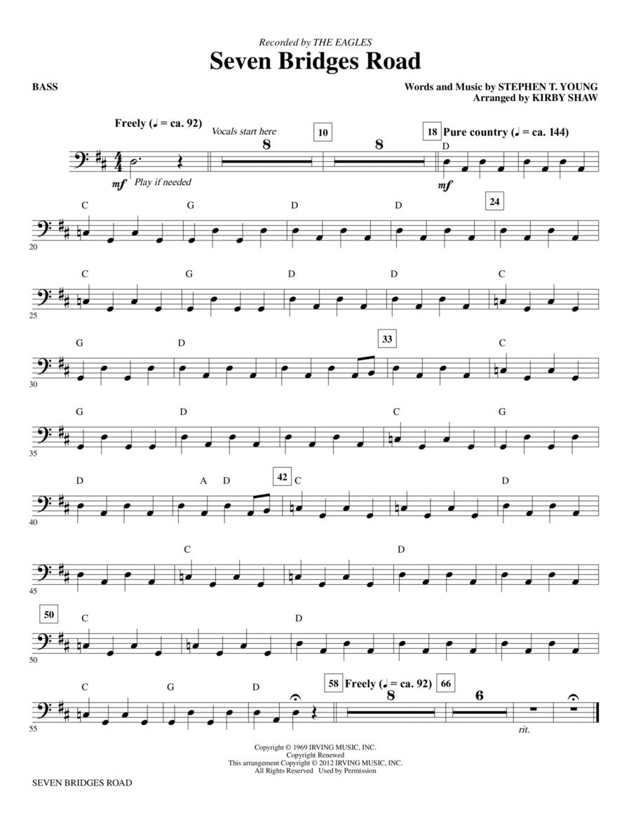 Seven Bridges Road - Bass