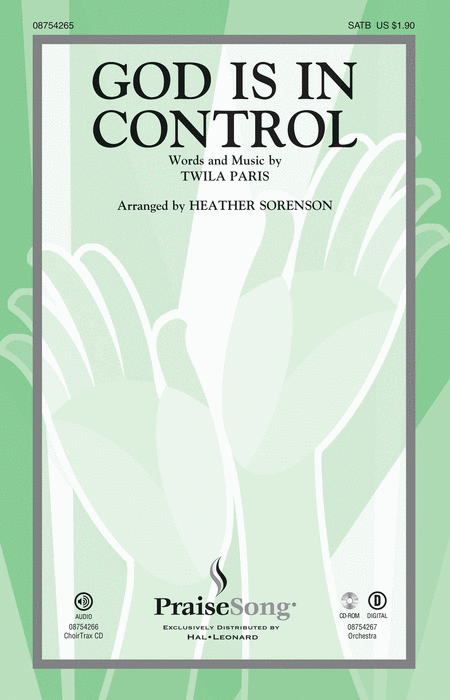 God Is in Control - ChoirTrax CD
