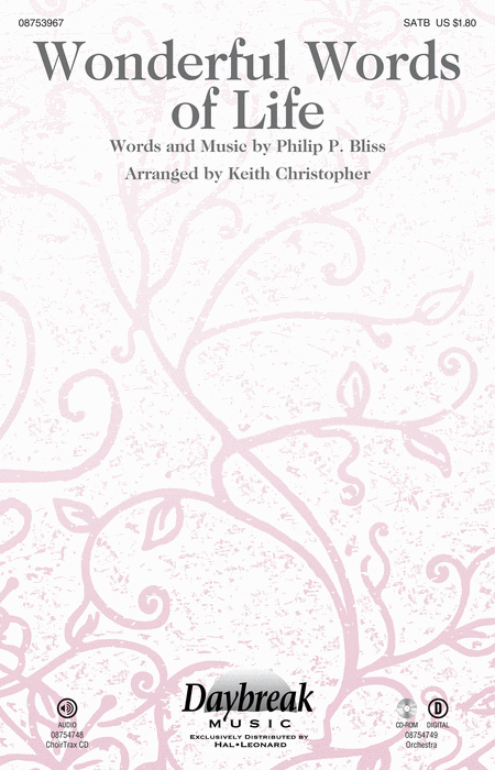 Wonderful Words of Life - ChoirTrax CD