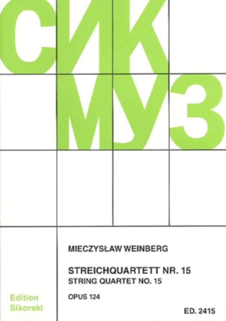 Mieczslaw Weinberg - String Quartet No. 15, Op. 124