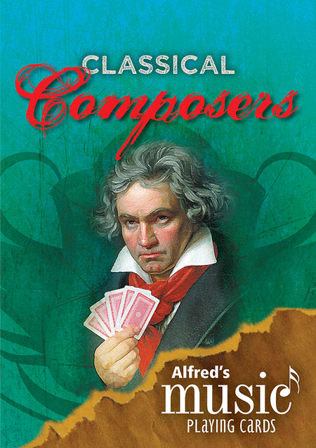 Alfred's Music Playing Cards -- Classical Composers